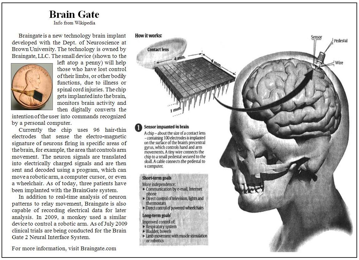 research paper brain machine interface A university of minnesota research team has developed a unique brain is to develop an eeg-based brain-machine interface on the day science nation.